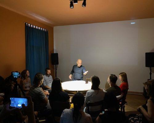 Snadný život - Performance by Husam Abed and Réka Deák (07/2021)