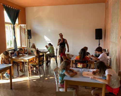 Příměstský kreativní tábor Pod Třešní (08/2021)